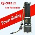 Мощный led фонарик CREE L2 самооборона Высокий свет открытый отдых Велоспорт Ночной прогулки Охота Рыбалка linternas led