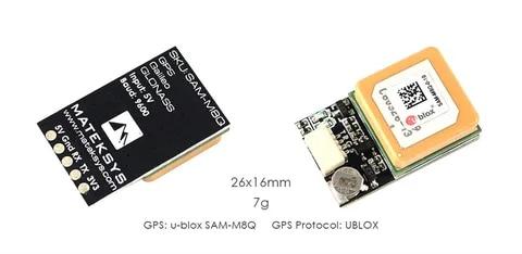 Presale Matek Systems Ublox SAM-M8Q GPS Module Support GLONASS Galileo QZSS SBAS for RC Multirotor Long Range FPV Racing Drone