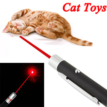 Funny Pet stick Childrens Cat Toys 5mW Pen Shaped Single Point LED Red Beam Laser Pointer Pen for Work Teaching Training
