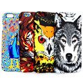 Amazing Luminous Jungle Animal Wolf Tiger Owl Capa Coque Slim Matte Hard Phone Cases Cover For iPhone 7 7Plus 5 5S SE 6 6S 6Plus
