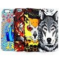 Amazing Luminous Jungle Animal Wolf Tiger Owl Capa Coque Slim Matte Hard Phone Cases Cover For iPhone 7 7Plus 5 5S SE 6 6S 6Plus