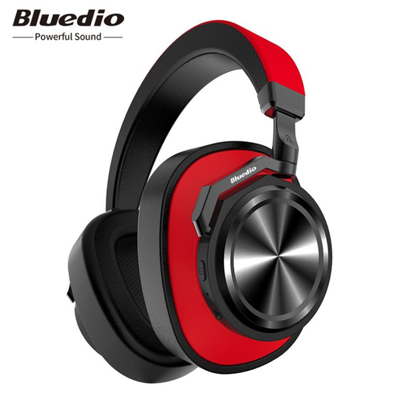 Bluedio Wireless Bluetooth Headphones Active Noise Cancelling T6 Headset with microphone for phones and music azgiant bluetooth 4 2 active noise cancelling headphones wireless bluetooth headset with microphone for phones and music