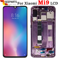 OEM For Xiaomi Mi 9 LCD Display Tested Touch Screen Digitizer Assembly For Mi9 LCD Mi9 SE LCD Display Mi 9 Screen Replace