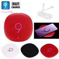 10W Qi Fast Wireless Charger Rapid Charger Pad For Samsung Galaxy S9 S9 Plus For Cell