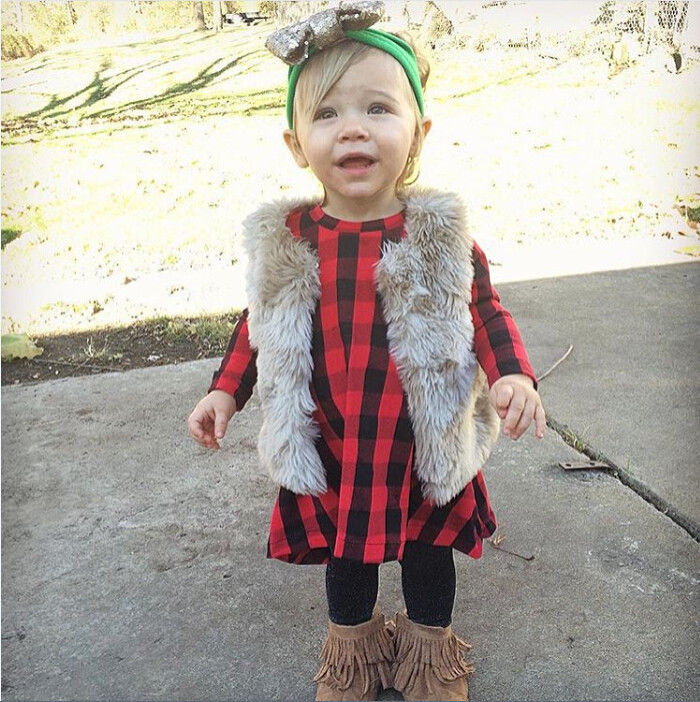 Fashion-Casual-Baby-Kids-Girls-Child-Dress-Checked-Long-Sleeve-Plaid-Party-Princess-Formal-Dresses-1-6Y-2