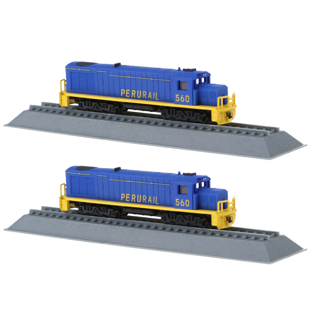 2pcs Locomotive Model DIY Layout Making Train Collection Decoration Home Steam Engine Toy Train