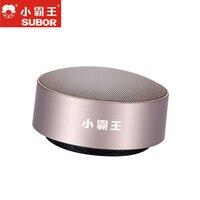 2018 Hot Sale Subor D56 Metal Wireless TF Music Play Audio Box Stereo Portable Bluetooth HIFI Speaker Handsfree Outdoor