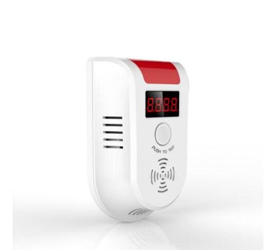 bilder für Drahtlose Digitale Led-anzeige Brennbaren Gas LPG Detektor Für Haus Alarm System sicher-Gas sensor für persönliche Sicherheit