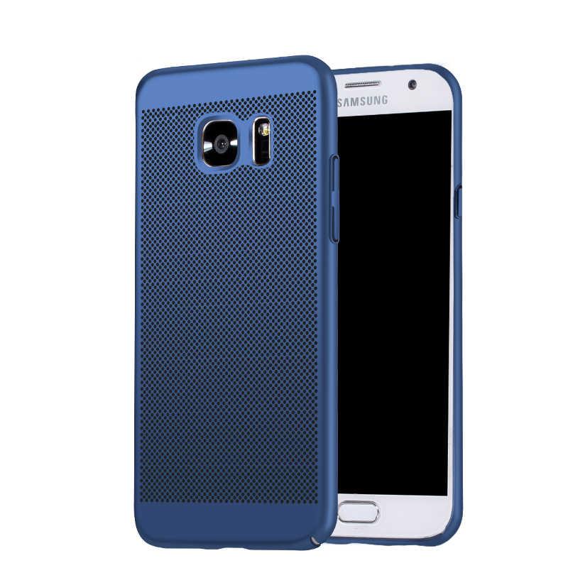 SIXEVE عالية الجودة حالة لسامسونج غالاكسي S8 S 8 زائد S7 S6 حافة زائد الهاتف المحمول غطاء سامسونج الصلب البلاستيك الإسكان عودة