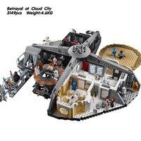 2018 compatible legoeinglys Star Wars UCS Betrayal at Cloud City 3149Pcs Building Blocks Bricks Toys For Children Gift 75222