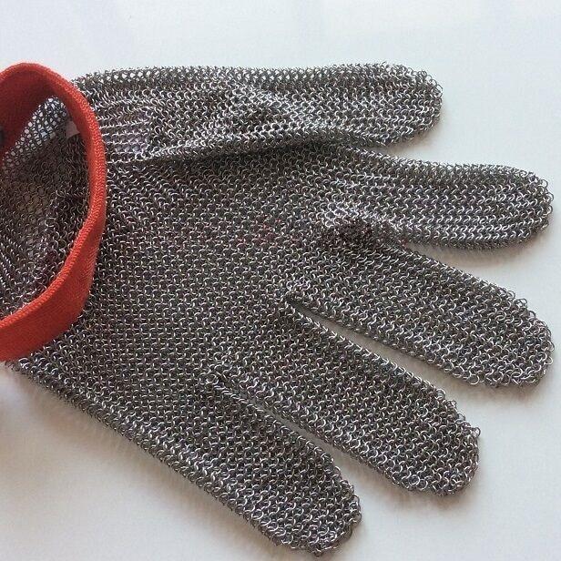 Chain Mesh Butcher Tools Shop Supplier <font><b>Gloves</b></font> Hand Wear Metal Mesh <font><b>Glove</b></font> Anti Cut <font><b>Glove</b></font> Cut <font><b>Resistent</b></font> <font><b>Gloves</b></font>