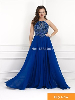 Vestidos-Longos-2014-New-Fashion-Online-Parties-Godmother-Dress-To-Party-Floor-Length-Royal-Blue-Mother