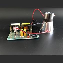 40 кГц ультразвуковой преобразователь драйвер 50 Вт/220 В цена включая преобразователи для очистки машины и экспериментальный инструмент
