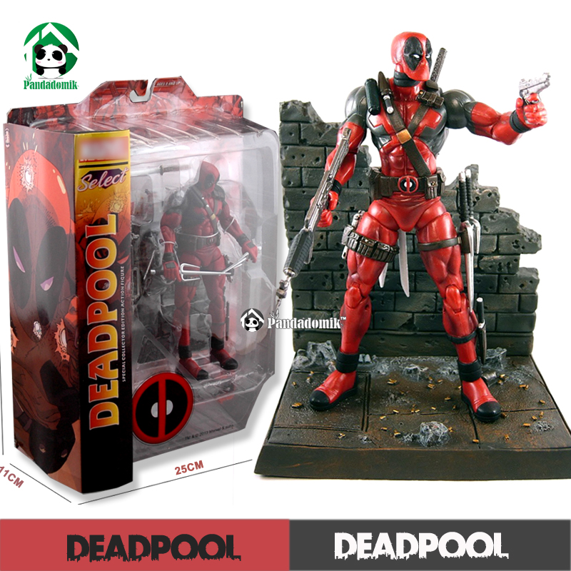 Deadpool 7 inch avengers action figure marvel kids toys 18cm action toy...