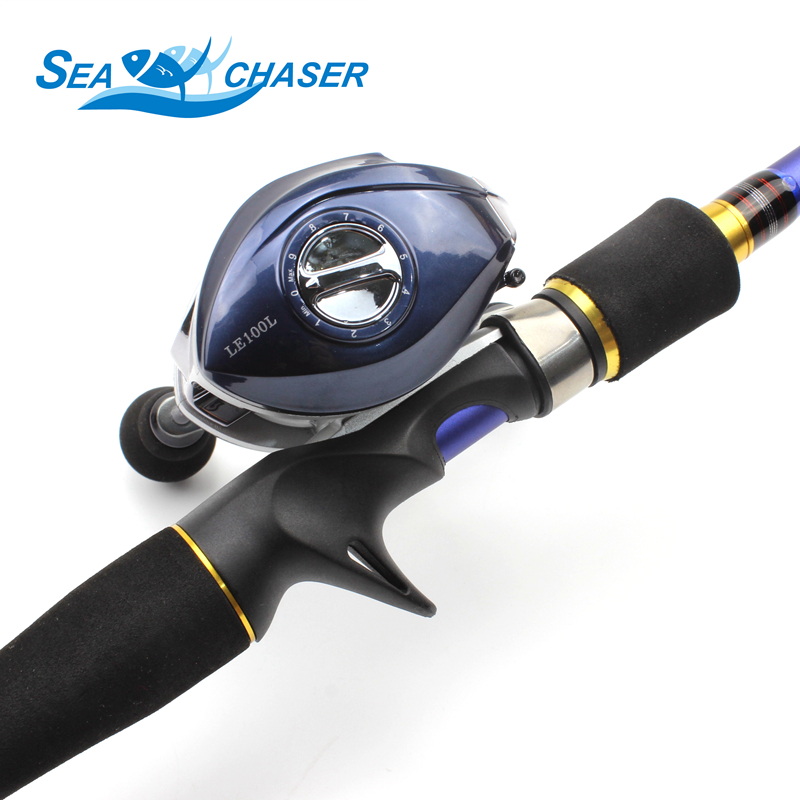 NEW 1 8M 2 1M 2 4M 2 7M Carbon Casting Rod and Spinning Reels Lure Set Trout Rod telescopic Travel fishing M power fast pole in Fishing Rods from Sports Entertainment