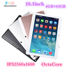 10.1 inch 3G/4G LTE tablet pc Android 7.0 Octa Core 4GB+64GB 1920*1200 IPS Dual SIM WIFI FM Bluetooth Smart Tablets 7 8 9