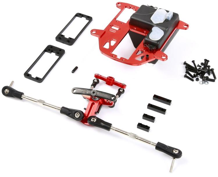 CNC metal symmetrical steering kit fit for hpi Baja 5B SS 5T RC CAR PART
