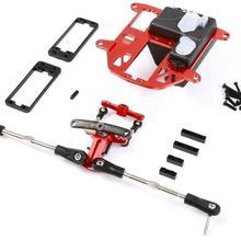 CNC Металл симметричный Рулевой Комплект подходит для hpi Baja 5B SS 5T RC части автомобиля