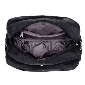 Image 4 - DIZHIGE di Marca di Grande Capienza Impermeabile Borsa A Tracolla In Nylon Multi tasca Borsa Delle Donne Solido di Alta Qualità Crossbody Bag Per Le Donne