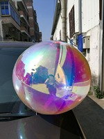 Iridescent Bubbles Inflatable Mirror Balls for Decoration