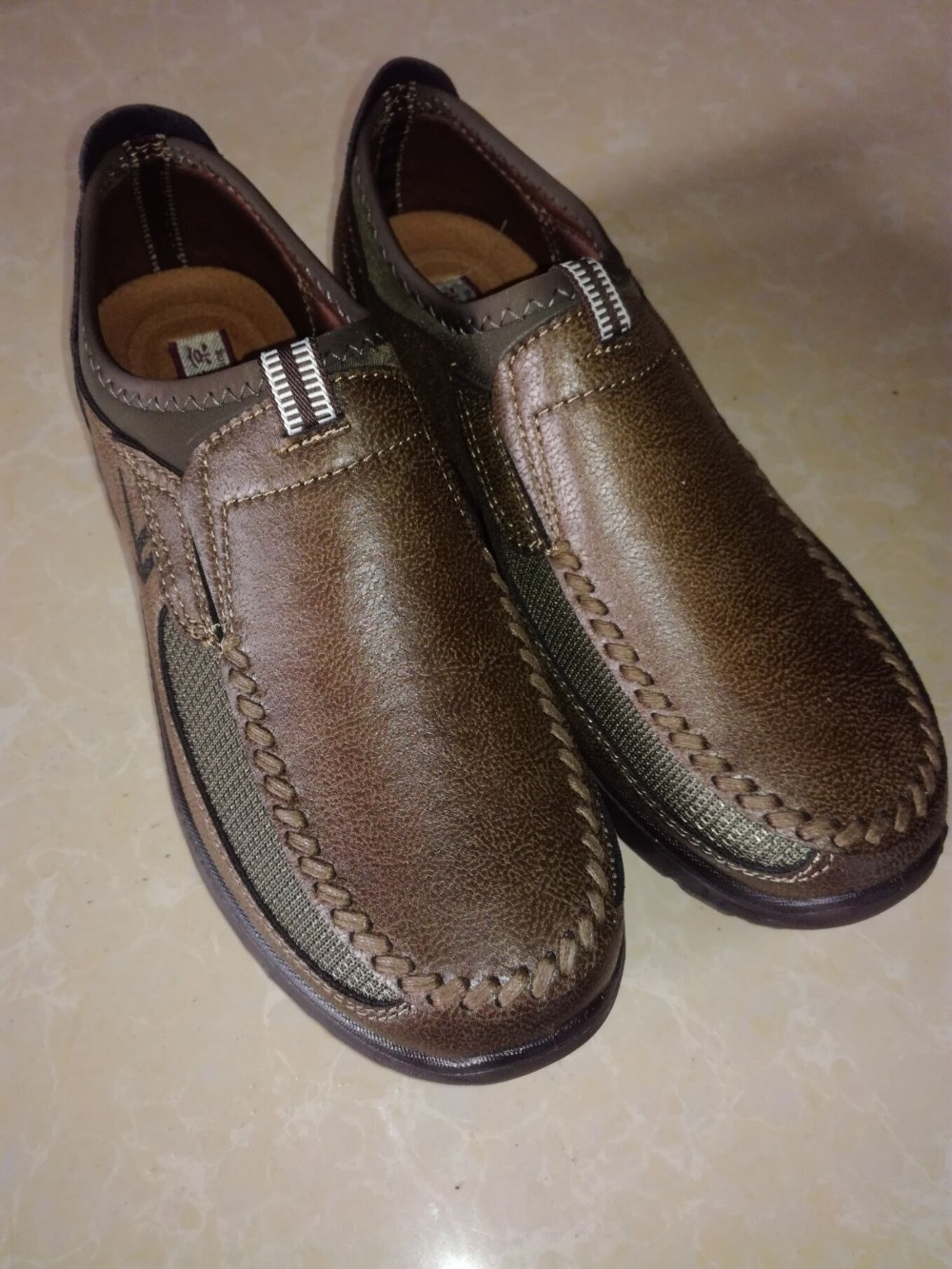 HTB1YuVkPYvpK1RjSZPiq6zmwXXaB Luxury Brand Men Casual Shoes Lightweight Breathable Sneakers Male Walking Shoes Fashion Mesh Zapatillas Footwear Big Szie 38-48