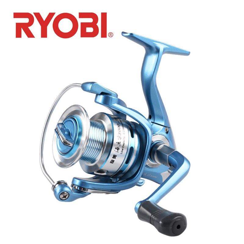 RYOBI RANMI HAILIFANG moulinet de pêche 1000-8000 série moulinets de pêche roue de pêche 5.1: 1/5. 0:1 rapport de vitesse roue de rotation
