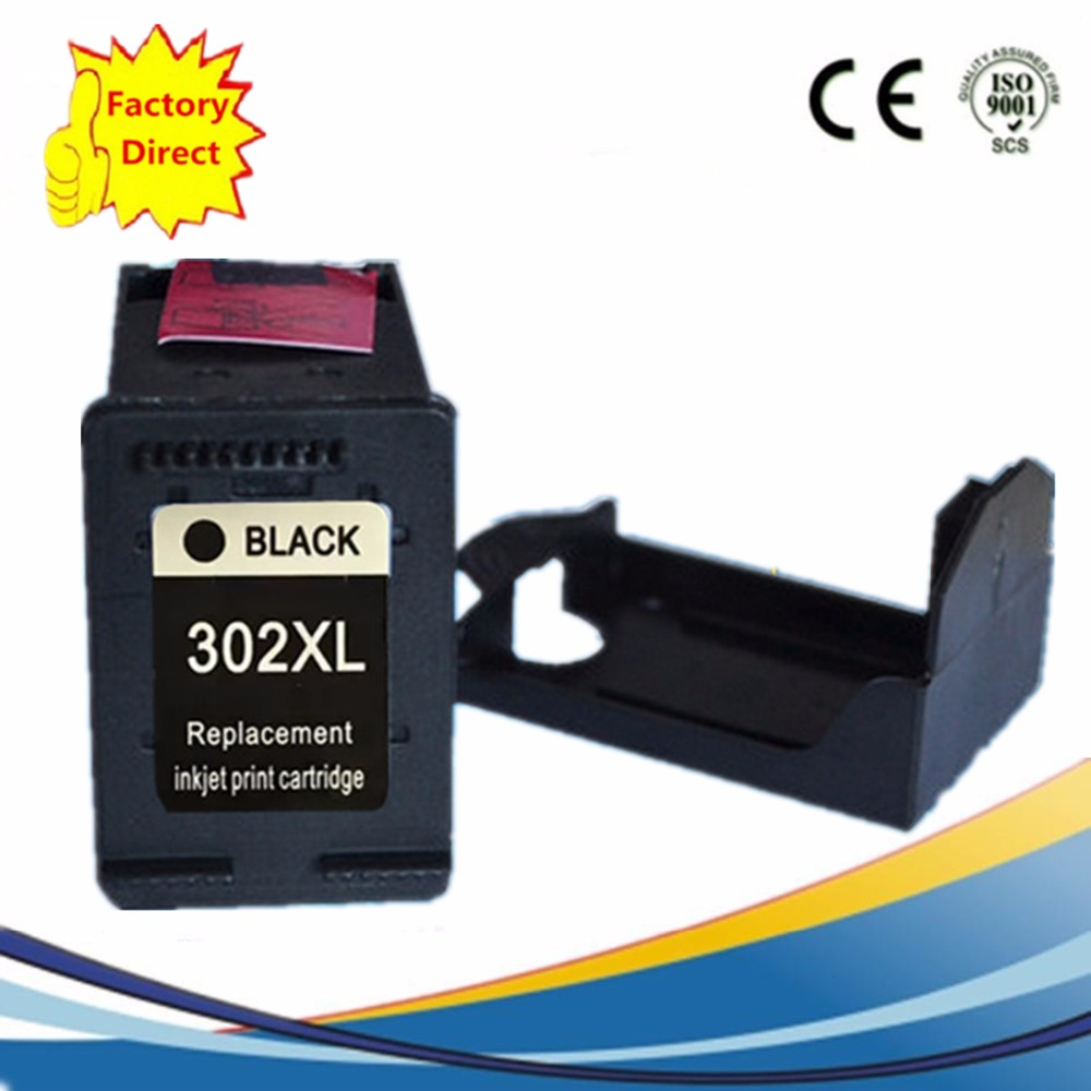 Cartridge 302 XL 302XL Remanufactured For HP302 HP302XL ENVY 4520 4521 4522 4523 4524 <font><b>Deskjet</b></font> 1110 <font><b>2130</b></font> 3630 <font><b>Printer</b></font> image