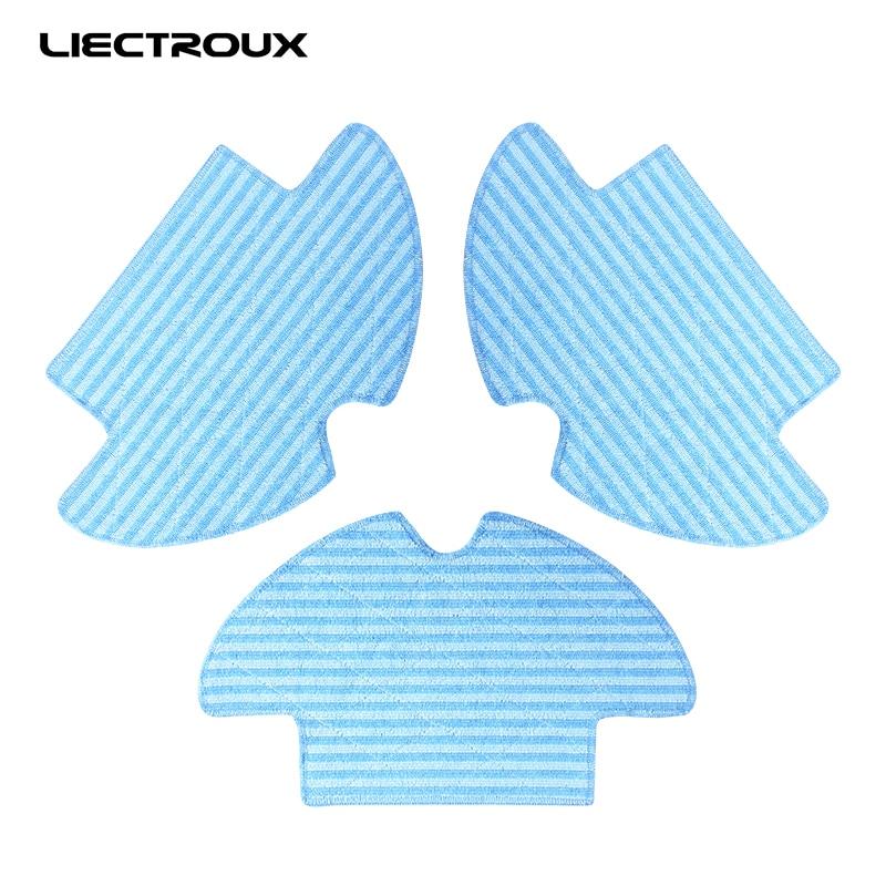 (For Q7000,Q8000) Liectroux Original Mop for Vacuum Cleaning Robot, 3pcs/pack(For Q7000,Q8000) Liectroux Original Mop for Vacuum Cleaning Robot, 3pcs/pack