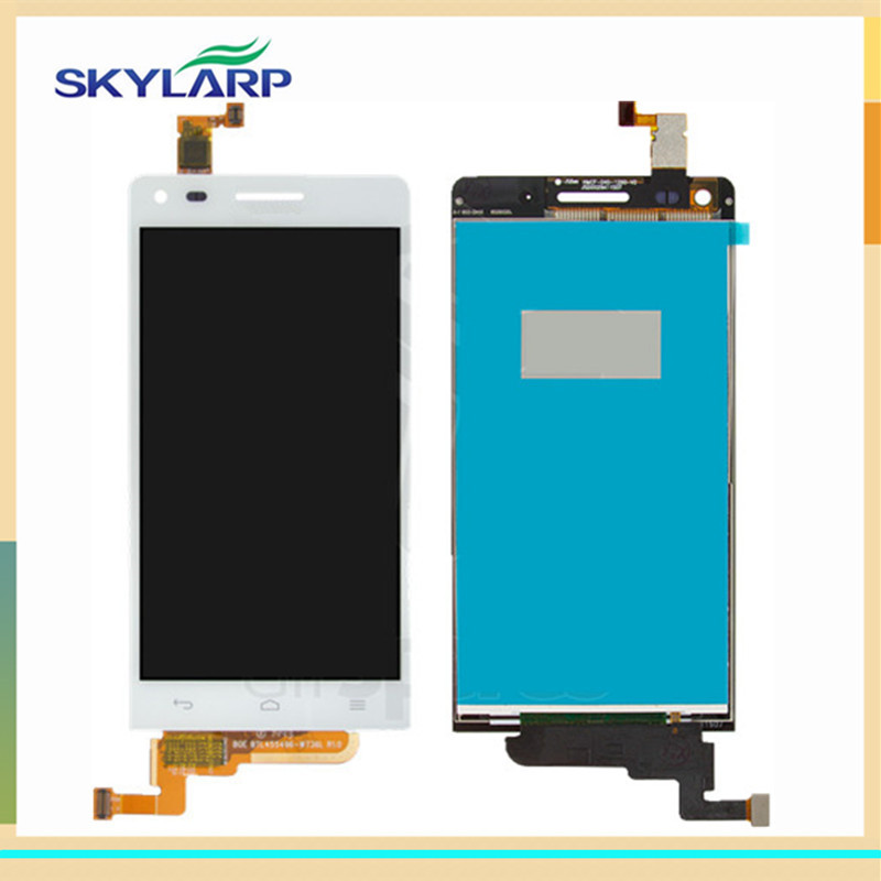 White LCD screen Module panel for Huawei Ascend G6-U10 With Digitizer Touch Screen Replacement (with logo) replacement original touch screen lcd display assembly framefor huawei ascend p7 freeshipping