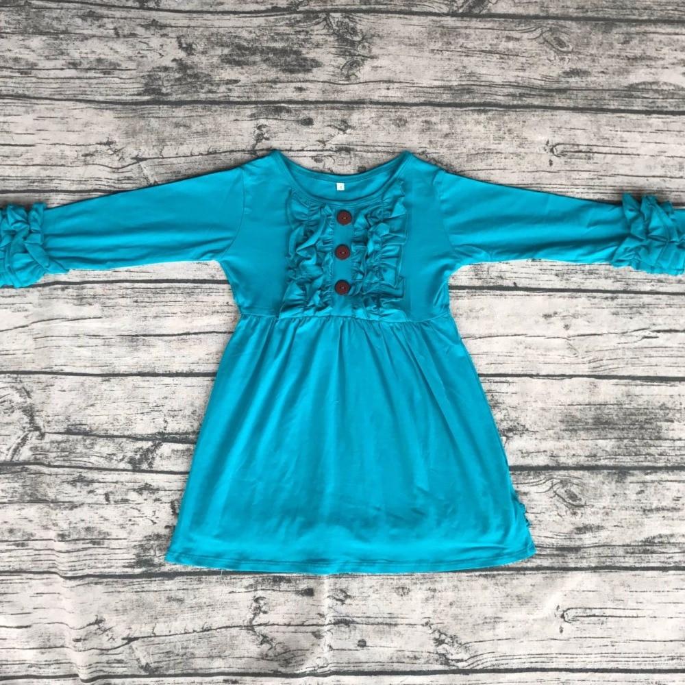 China Hersteller Baby Mädchen gesmokt kleid einfache baumwolle kleid ...