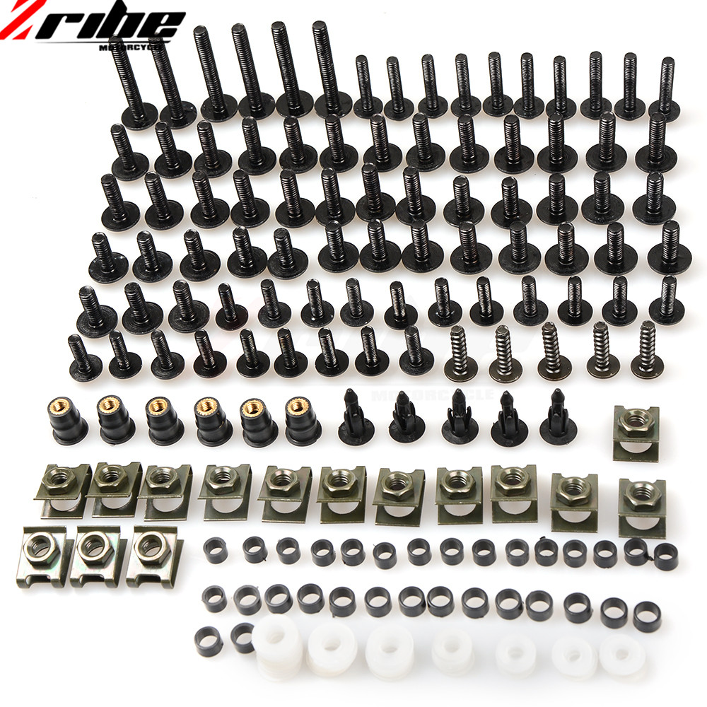 For SUZUKI SV 650 SV650 GSXR 600 750 1000 K1 K4 K6 K7 K8 K9 L1 Fairings Universal Motorcycle Fairing Body Bolts Spire Screw Nut new universal brand motorcycle accessories fairing body work bolts screws for suzuki m109r boulevard ducati diavel the devil
