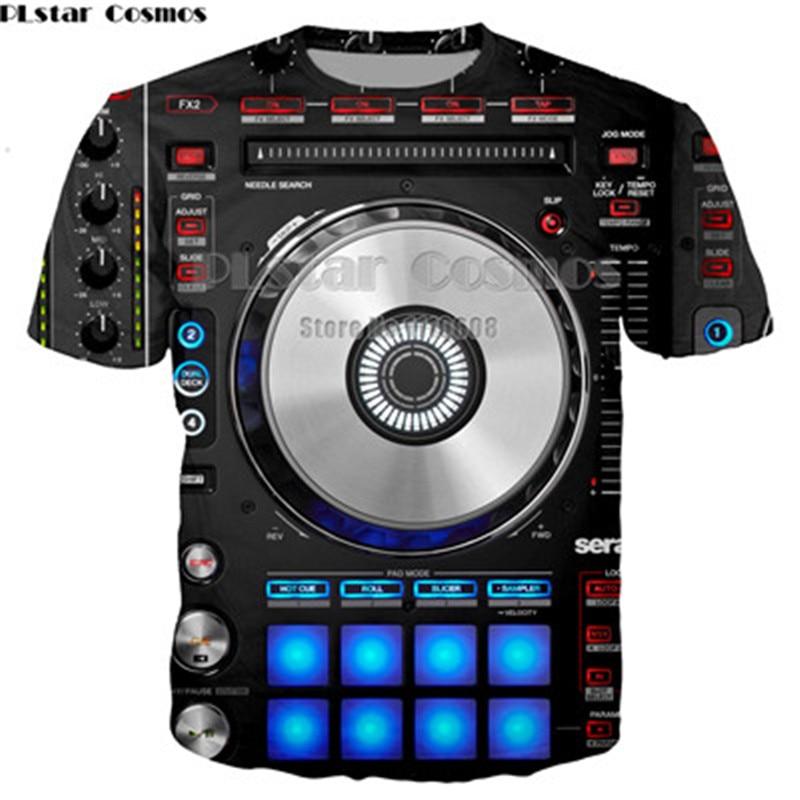 YX GIRL 3D print Női Férfi póló Rock DJ Print Punk Férfi póló - Férfi ruházat