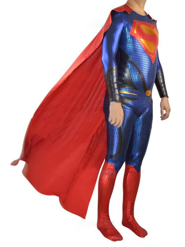 DC Comics Super Heroes 2014 új szuperhős Superman jelmez zentai - Jelmezek - Fénykép 2
