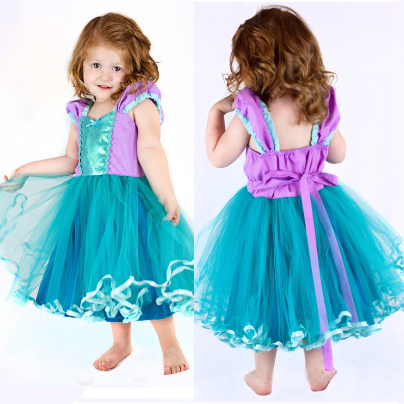 2018 Summer Dress For Teenage Girl Les Robes Des Tulle Gowns Princesses Outfit Girls 4 to 5 Years Birthday Baby Costume Clothes