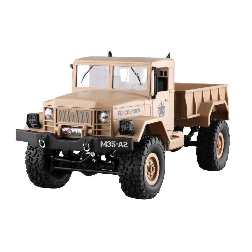 Снега земли внедорожный RC грузовик для электрических Прямая - Цвет: Khaki