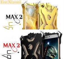 Для Сяо Mi Max 2 Чехол zimon Железный человек из металла Алюминий защита телефона чехол для сяо mi Mi Max 2