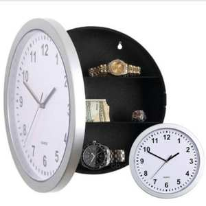 Safe-Box Wall-Clock Cash-Money Secret Office Security Hidden Creative Home for Jewelry-Storage