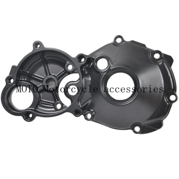 Motorcycle Parts Right Side Engine Stator Cover Crankcase For Suzuki Hayabusa 1300 GSX1300R GSX1300 1999-2013 2012 2011 2010 aftermarket free shipping motorcycle parts engine stator cover for suzuki hayabusa gsx 1300r 1999 2015 left side chrome