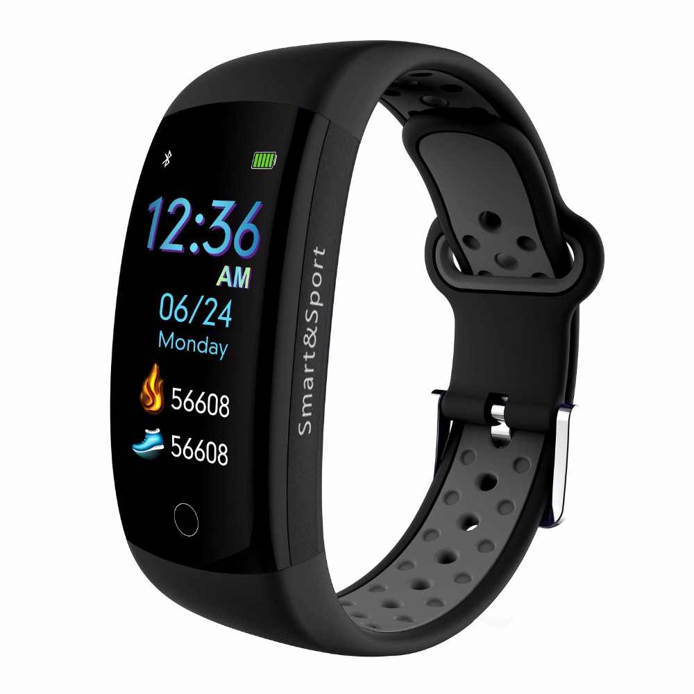Ip68 Waterproof Sports Smart Band Gps Smart Wristband Blood Pressure Oxygen Smart Bracelet Fitness Bracelet Heart Rate Monitor