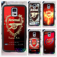 The Gunners Arsenal FC Cool Logo Fashion Cover Case For Samsung Galaxy S3 S4 S5 S6