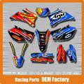 Customized Team Graphics & Backgrounds Decals 3M Stickers FMF ARAI For WRF WR250F WRF250 07-12 WR450F WRF450 07-11