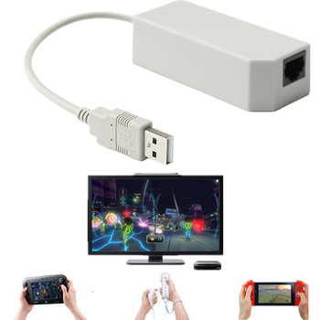 USB Internet Ethernet LAN Network Connector Cable Plug and Play For Nintend Switch NS For Wii/U LAN Network Adapter High Speed