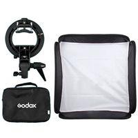 40x40cm Softbox + S Type Bracket Bowens Holder+ Bag Kit for Camera Flash