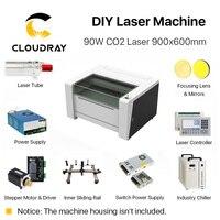 Cloudray полное аксессуары для 9060 RECI W2 индивидуальные CO2 лазерная машина решение всех Запчасти для DIY Лазерный Ruida S &
