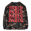 Absolutely High Quality Real Tag Kanye West YEEZY Pablo T Shirt SEASON 1 Justin Bieber Camouflage Hip Hop Military Men Long Tee
