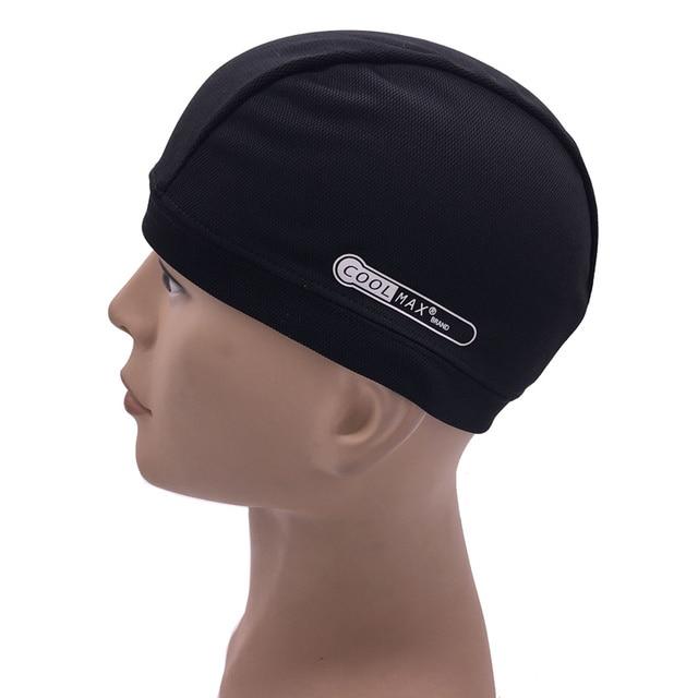 baseball hat motorcycle helmet inner cap quick dry breathable racing under beanie style