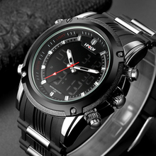 HPOLW New Men Sports Watches Luxury Mens Military Army Watch Digital LED Electronic Male Wristwatches Relogio Masculino