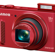 USED CANON Compact Digital CAMERA POWERSHOT SX610 HS 20.2MP