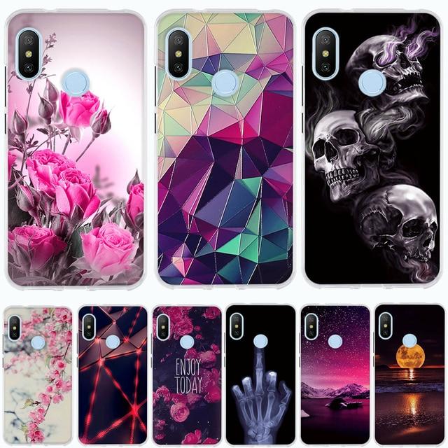 8661352c7c7 Case For Xiaomi Mi A2 Lite Case Cover Silicone Coque For Xiaomi Mi A2 Back Cover  Case for Xiaomi Redmi 6 Pro Mi 6X Funda Capa