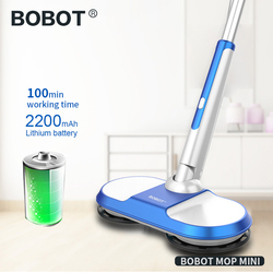 BOBOT RP MINI inalámbrico eléctrica RP fregona del piso barriendo inalámbrico de mano eléctrico RP piso lavadora